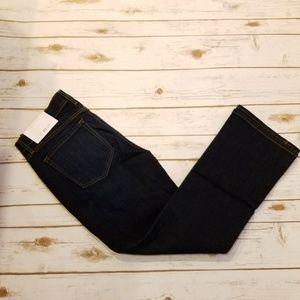LOFT Flare Kick Crop Jeans